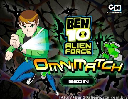 Jogos gratis do ben 10 ben 10 alien force omnimatch