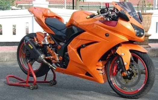 Modifikasi Kawasaki Ninja 250R 2010