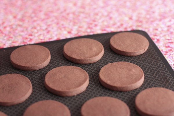 Ro Guaraz · masitas de chocolate · 03 · horneadas