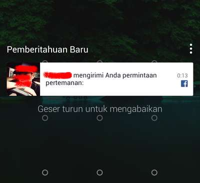 [Tutorial] Cara Nonaktifkan Lockscreen Notifikasi Facebook