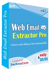Extract email ids in bulk from internet