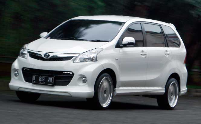 Modifikasi Toyota Avanza Veloz Sporty
