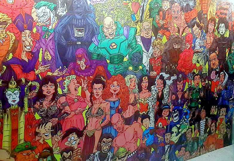 Delhi Comicon Collage