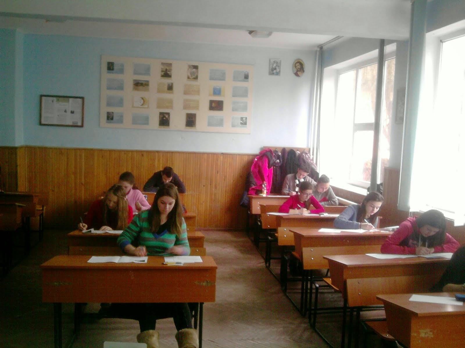 Aspect de la Olimpiada locală de Istorie, Roznov, 21.02.2015...