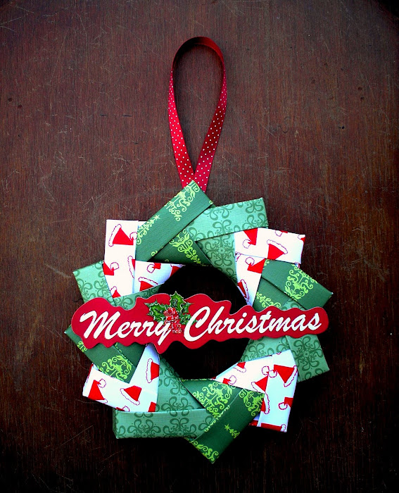 how-to: origami wreath