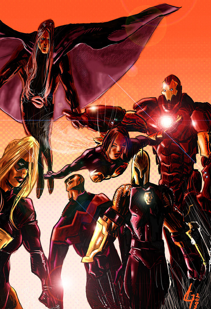 Mighty Avengers por vendegor