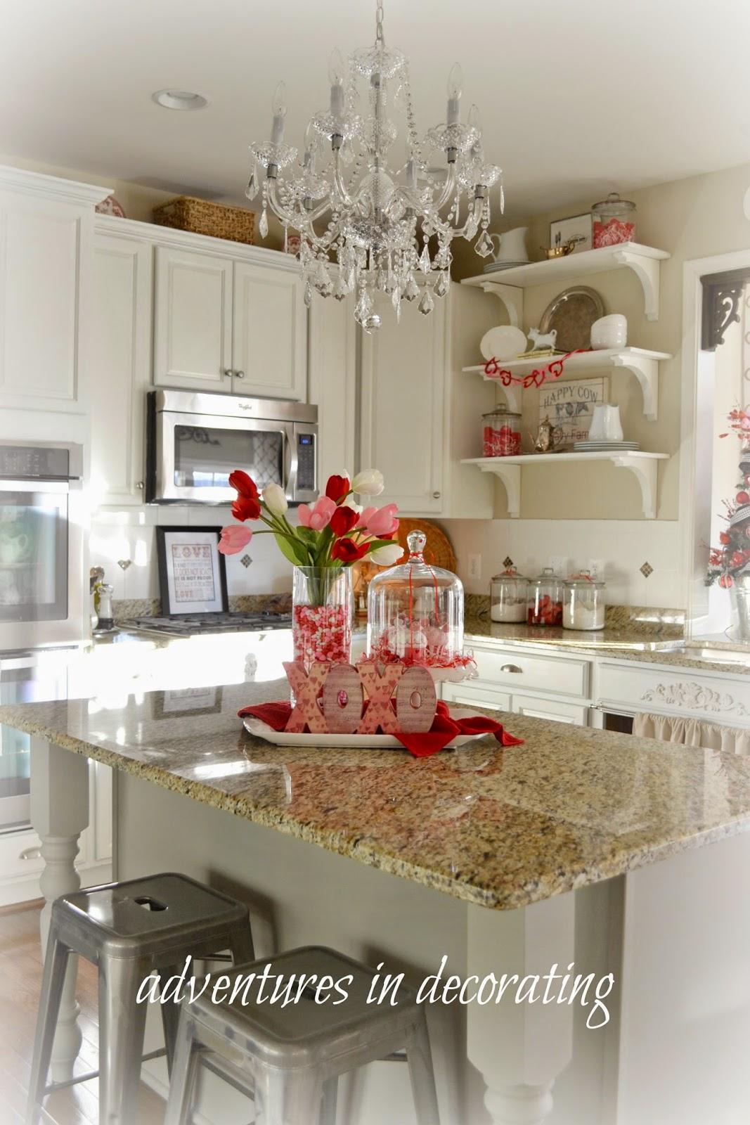adventures in decorating a little more valentine decorating. Black Bedroom Furniture Sets. Home Design Ideas