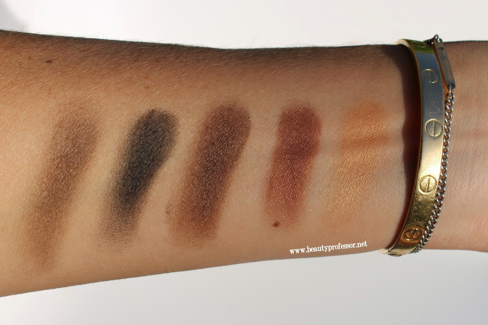 burberry complete eye palette dark spice swatches