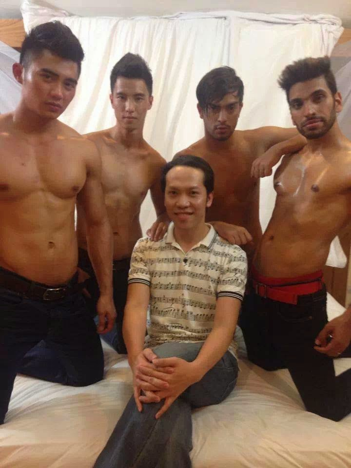 Behind the scenes - Mister Global 2014