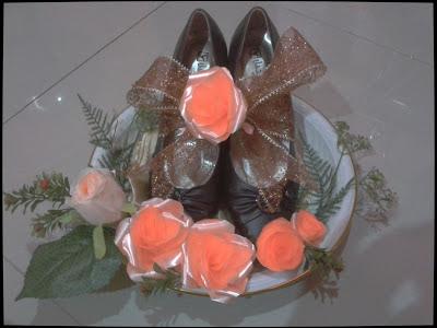gubahan kasut wanita