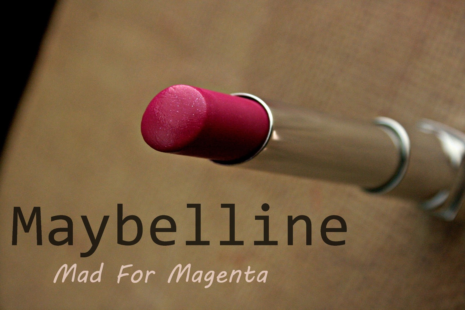 Maybelline Color Whisper Lipstick in Mad For Magenta