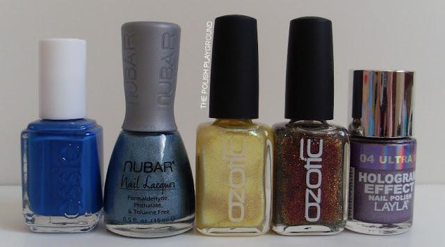 Essie, Nubar, Ozotic, Layla