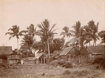 Photographie ancienne Sainte-Marie Madagascar