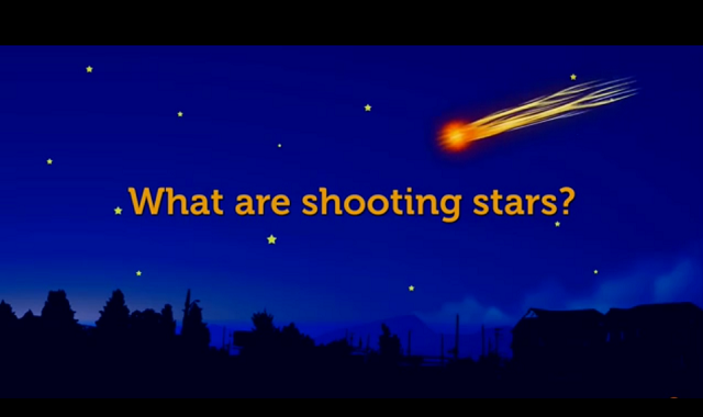 what are shooting stars