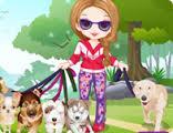 Köpekle Yürüyüş Elbiseleri Oyunu