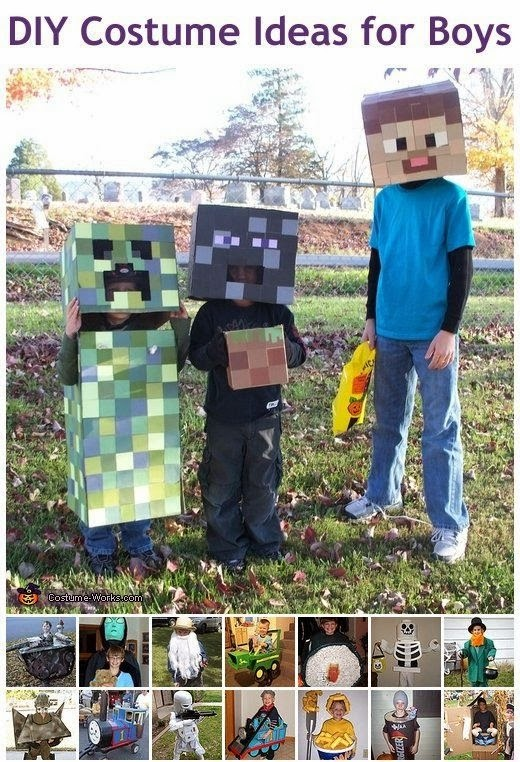 Homemade Costumes for Boys
