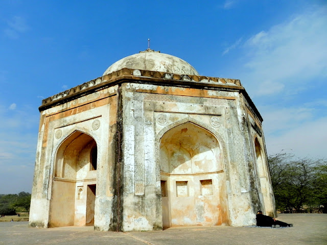 Metcalfe's House or the Tomb of Quli Khan inside Mehrauli Park