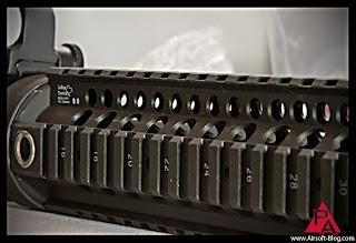 Larue Tactical 9 inch RIS, rail interface system, Larue rail system, Echo1 Platinum M4 AEG, VFC M4 AEG, Used Airsoft Guns for Sale, Pyramyd Airsoft Blog, Tom Harris Media
