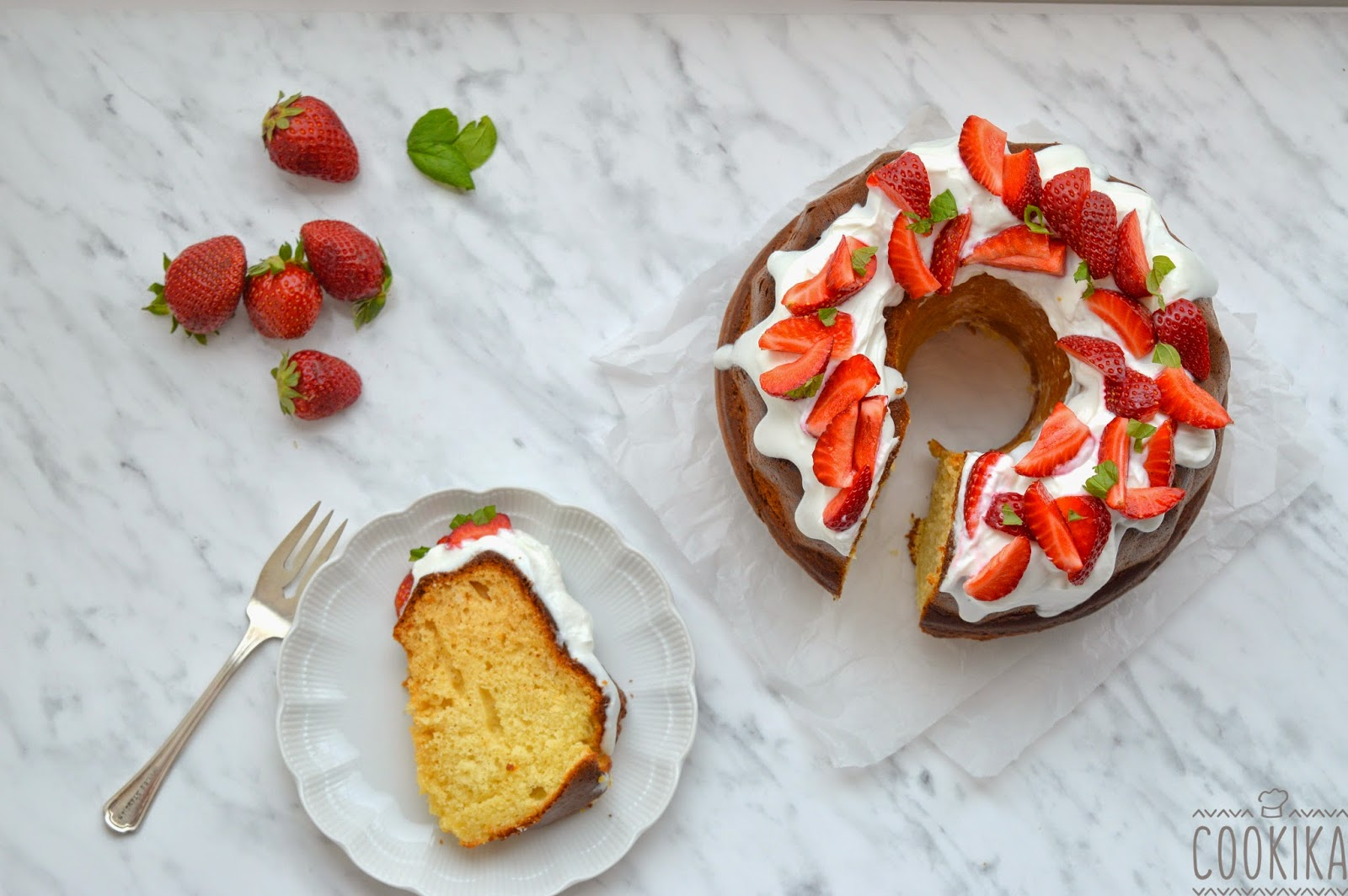 Greek yogurt and olive oil cake