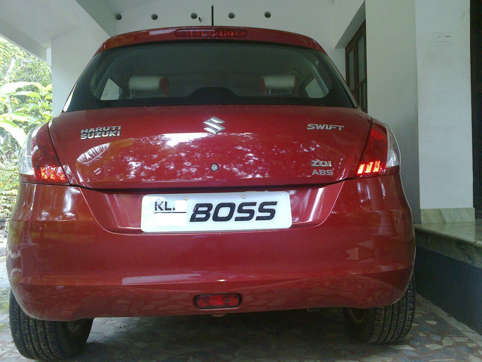 Stars And Cars Boss Number Plate 8055