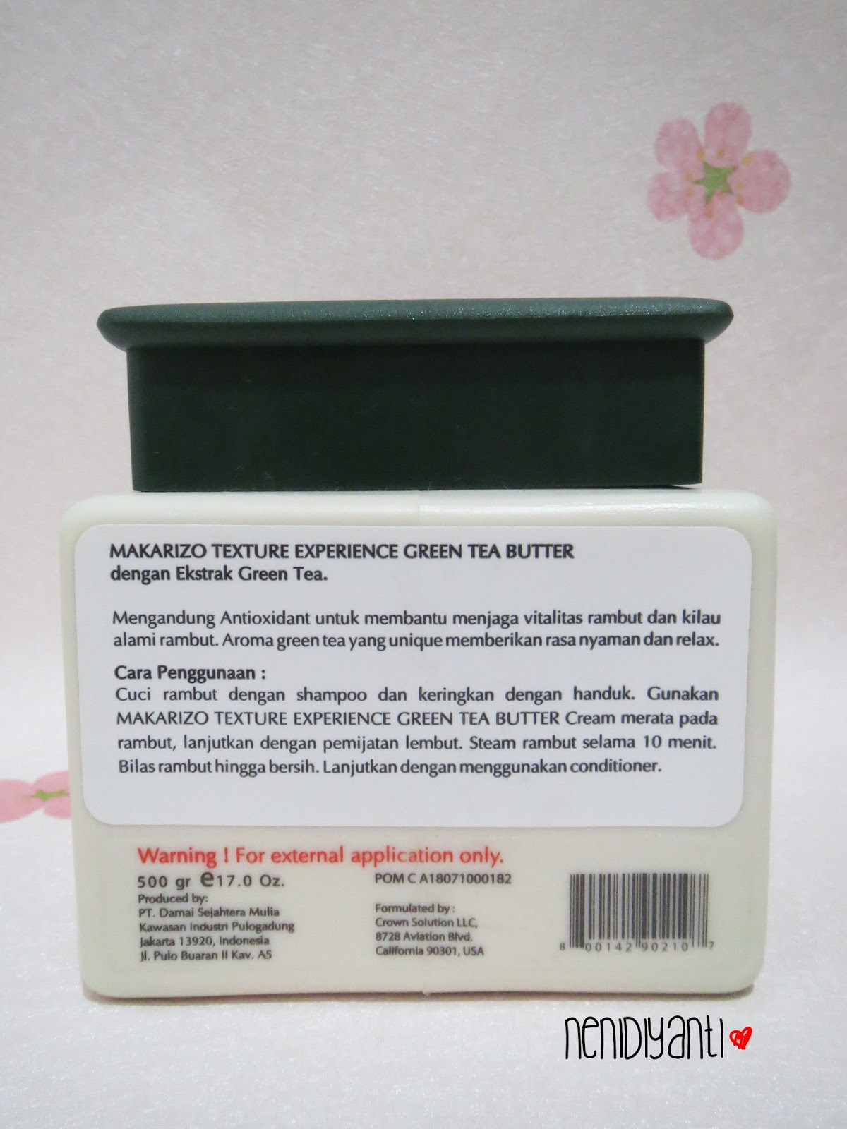 Kawaii Fuku Makarizo Hair Texture Experience Green Tea Butter Shampoo 250ml Contains Antioxidant To Maintain Vitality And Natural Luster The Unique Fragrance