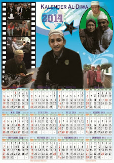 download Kalender 2014 cdr gratis