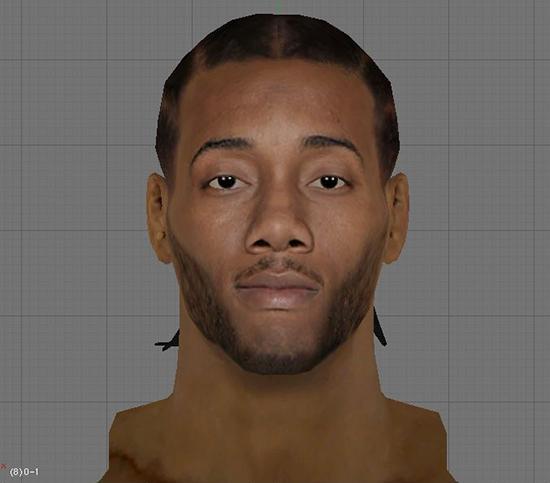NBA 2K14 Kawhi Leonard CF Mod