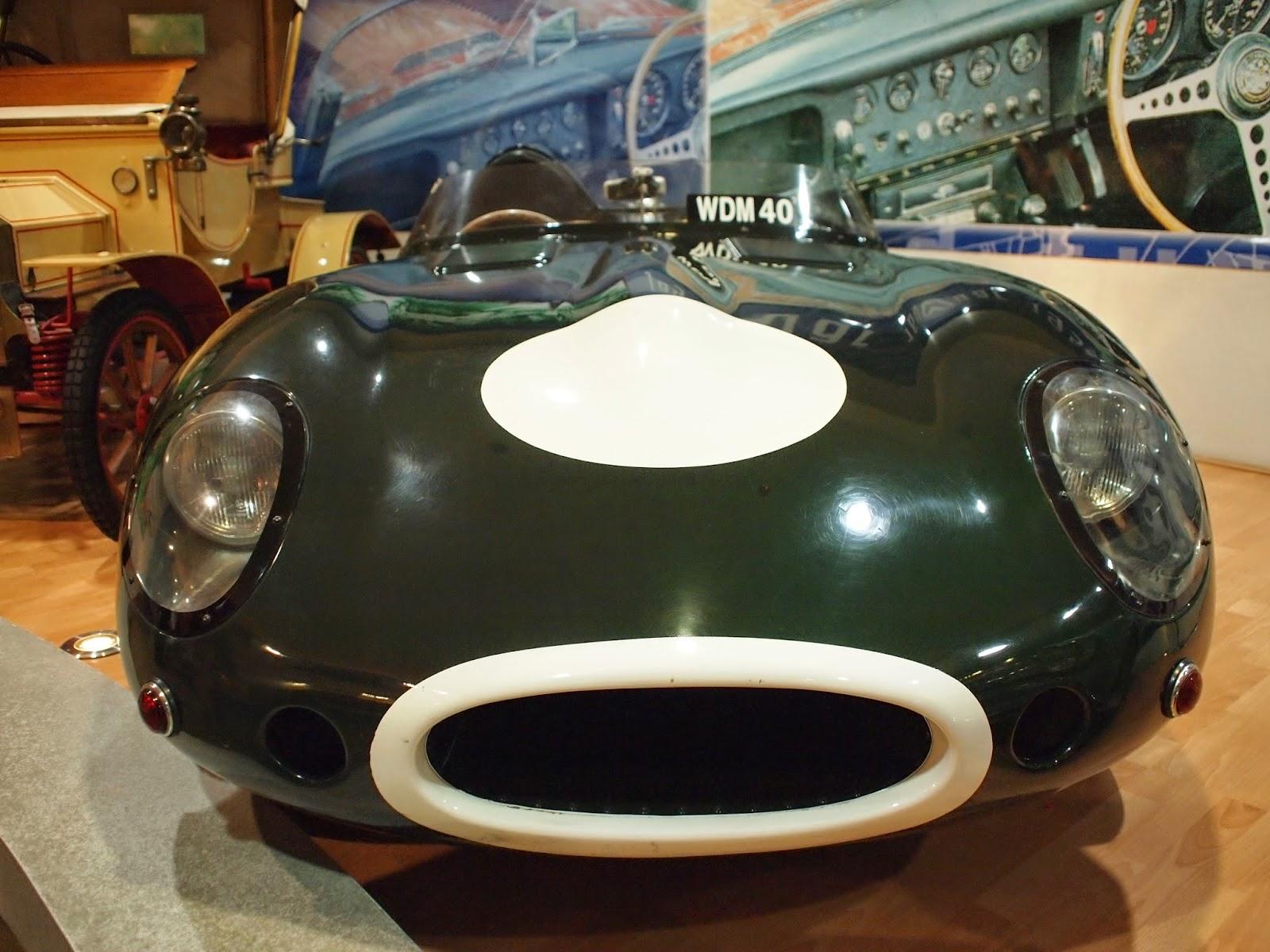 Muzium Automobil Nasional - Jaguar D-Type