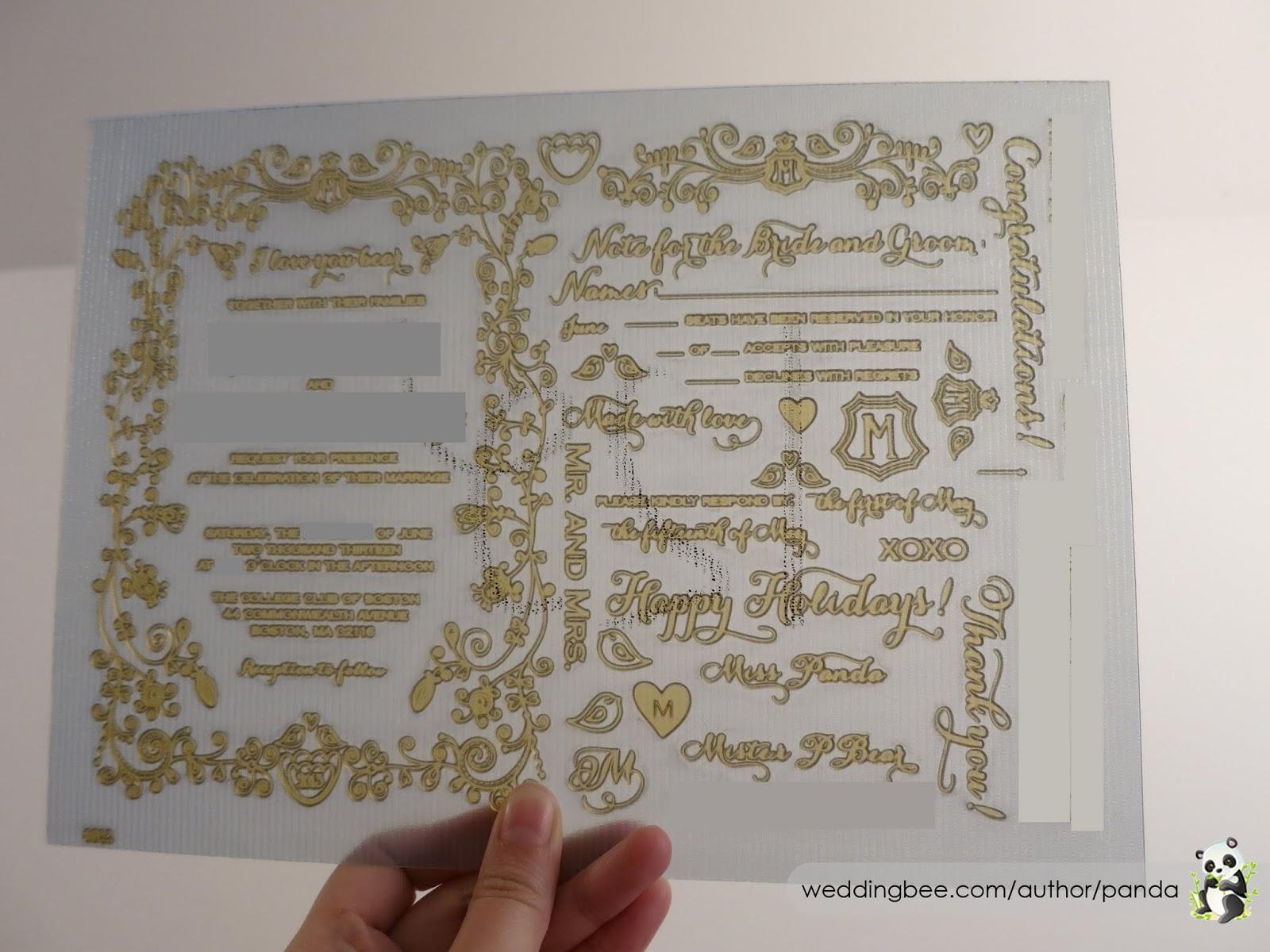 Diy letterpress invitations part 1 tips for making your letterpress