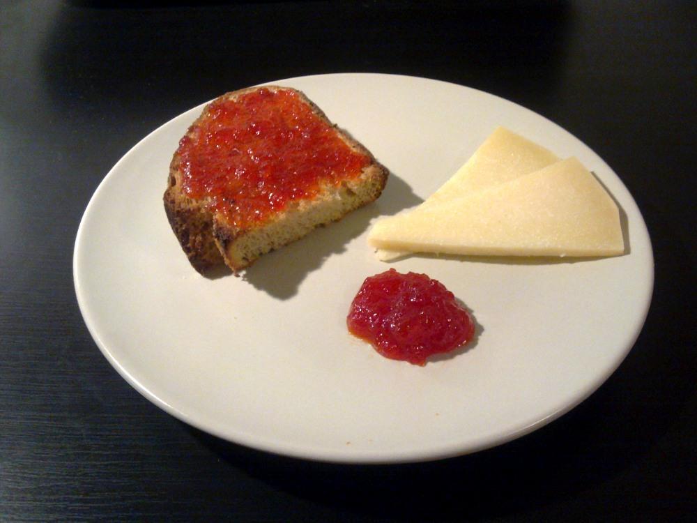 Mandarinas en berl n mermelada agridulce de pimientos rojos - Como hacer mermelada de pimiento ...