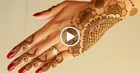 Easy Mehndi Tutorial : Easy mehndi designs tutorials for wedding must watch
