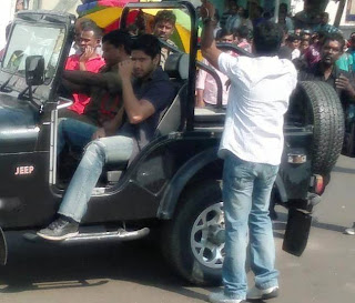 Working Stills of Naga Chaitanya's Latest Movie