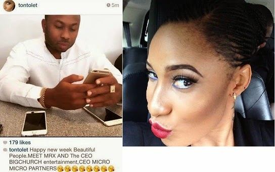 Finally Tonto Dike Reveals Boyfriend chiomaandy.com
