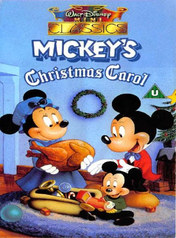Pixie Pranks and Disney Fun: Mickey's Christmas Carol