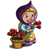 FarmVille Flower Seller Gnome  (Day 5)