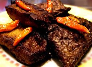 Sweet Marinited Tofu Tahu Bacem