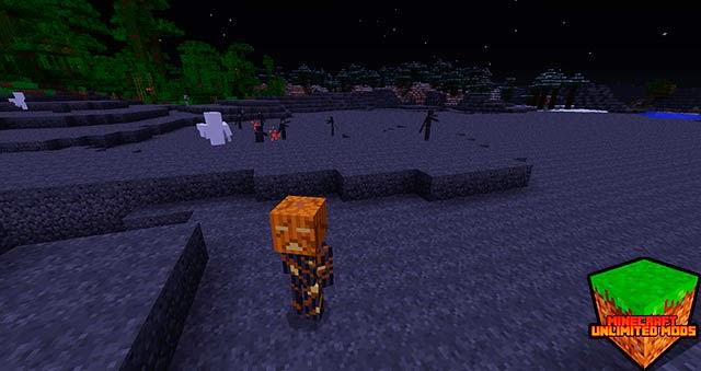 TragicMC Mod pumpkin head