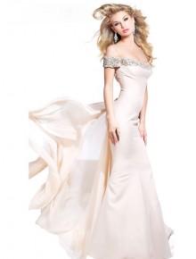 vestido elegante blanco