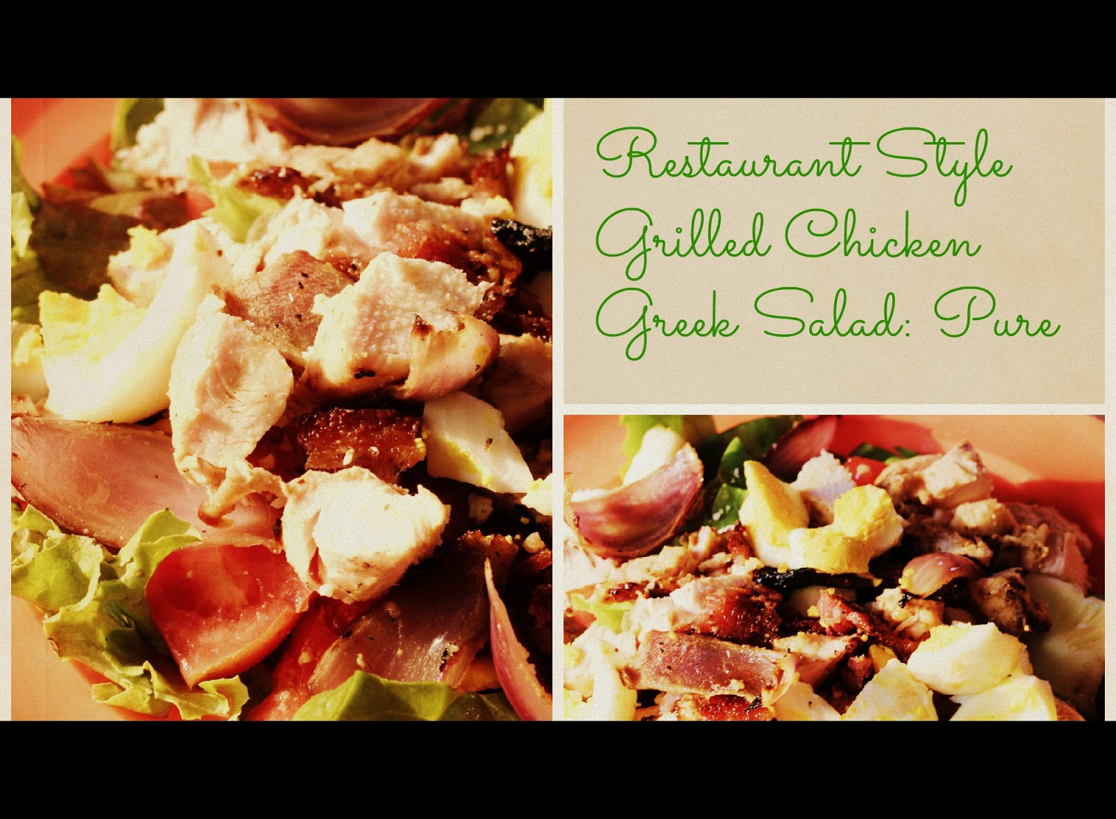 The Niewald Kitchen Table : Paleo Grilled Greek Chicken Salad