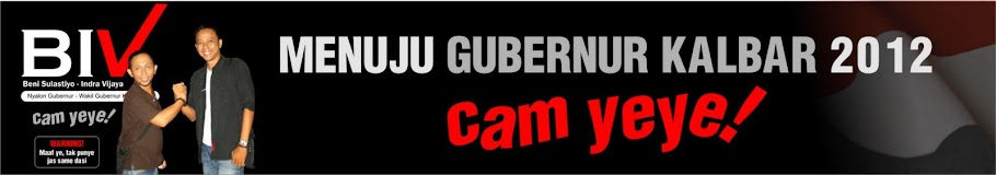 CAGUB KALBAR 2012, A...CAM YEYE!