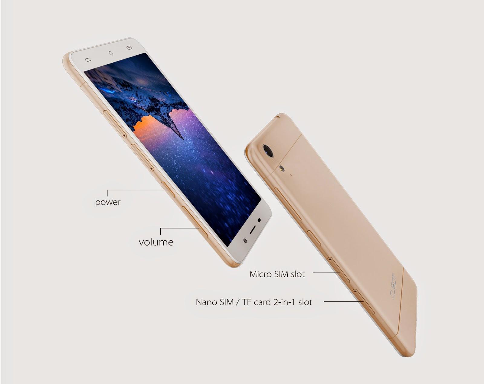 CUBOT X9 5-inch 2GB RAM MTK6592 1.3GHz Octa-core Smartphone
