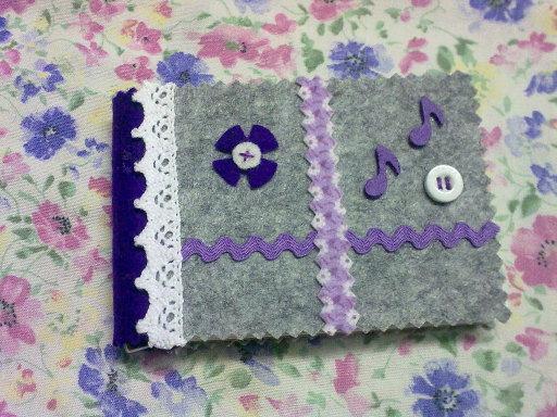 Letras De Decoracion Para Cuadernos ~   forrado con tela o punto de cruz aqu? todo depende de tu imaginaci?n