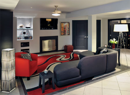 Modern Furniture: Modern living rooms interior latest sofa designs.