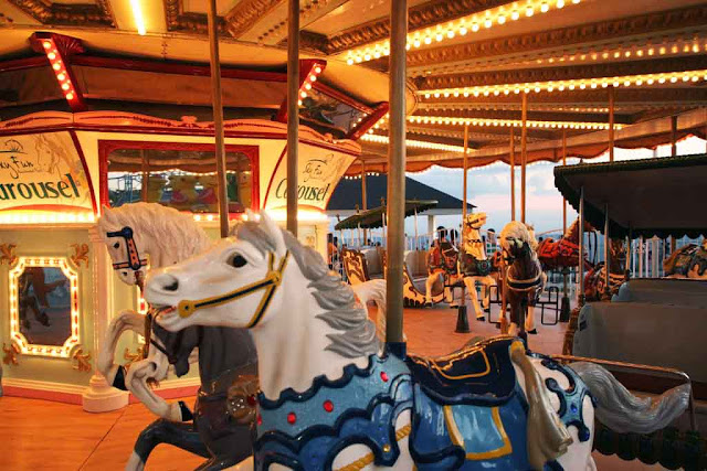 Carousel at Sky Fun Amusement Park at Sky Ranch Tagaytay