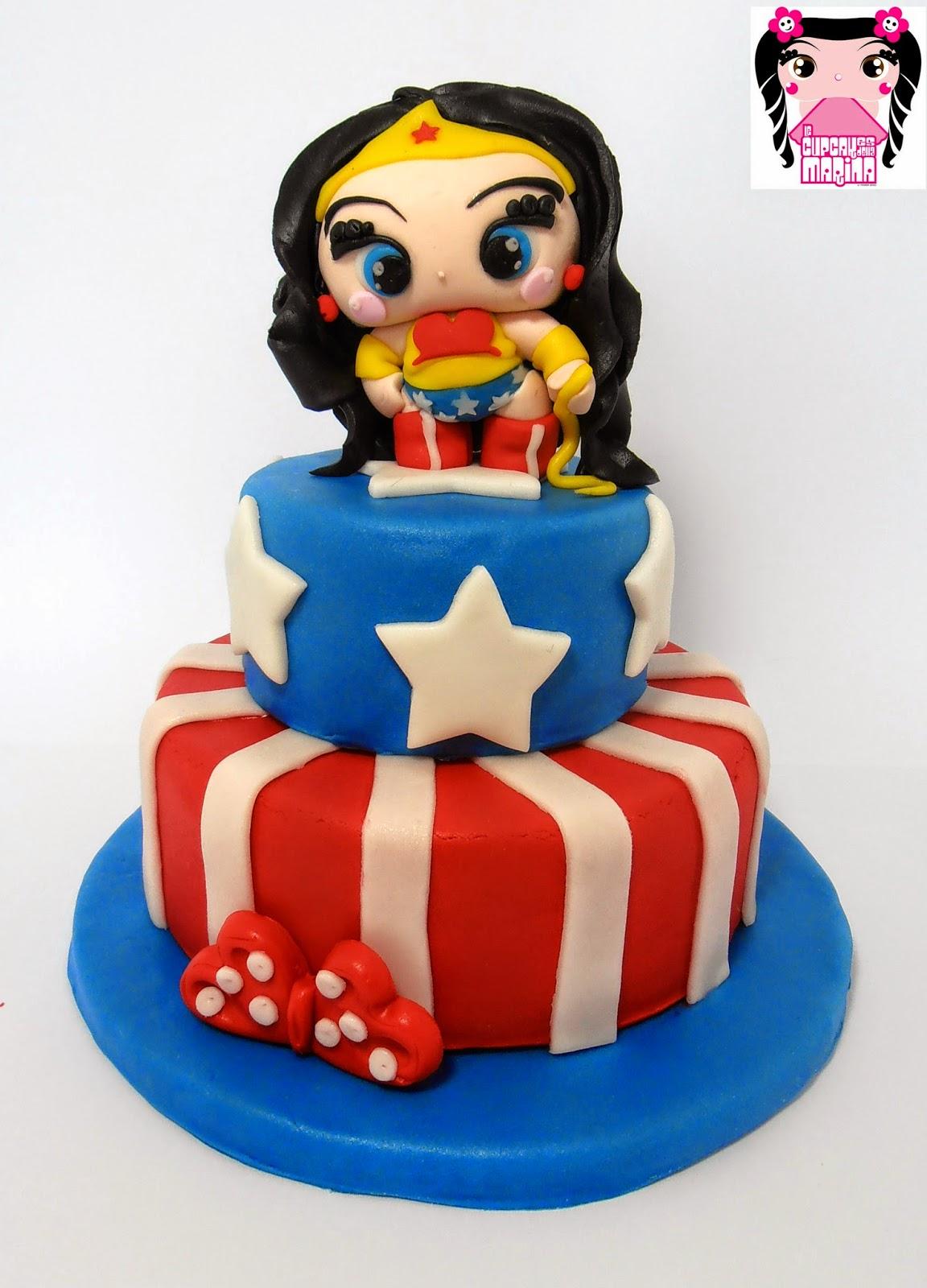Torta Wonder Woman cake