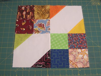 Arkansas Crossroads quilt block