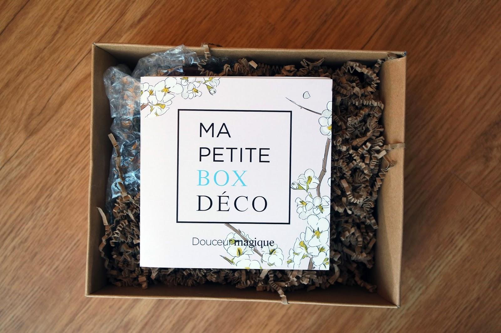 home ] ma petite box déco : douceur magique ~ smoothie bikini - blog