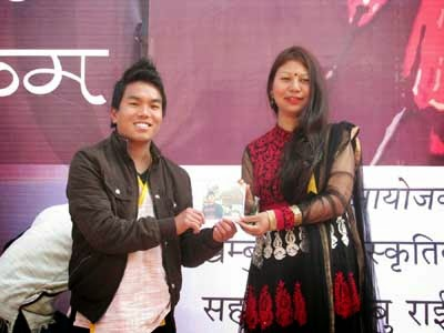 Senteram singer Pranesh Rai - Remanti Rai, the winner of North East ke superstar