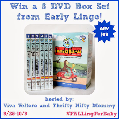 Early Lingo Review and Giveaway! #FALLingForBaby