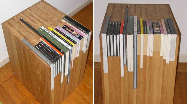 Roc o d az g mez de muebles y libros de muebles con for Muebles para libros